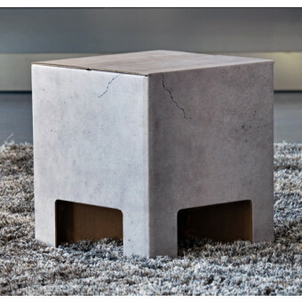 Dutch Design Chair  krukje Concrete Betonlook