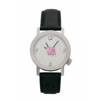 Akteo Horloge Crazy Pig