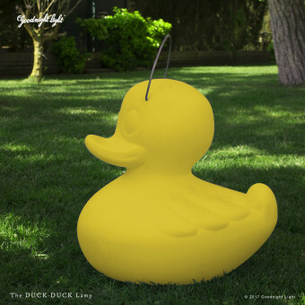 Goodnight Light DUCK DUCK Lamp Eend XL Geel