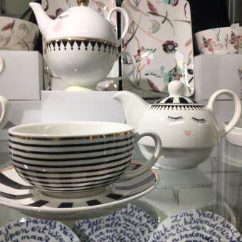 Miss Etoile Set Tea For One met Theekop en Schotel