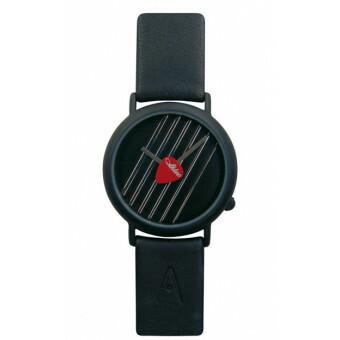 Akteo Horloge Gitaar Mediator Zwart