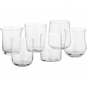Bitossi Borrel Shot glas set van 6 Helder