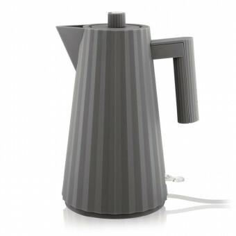 Alessi Plisse Waterkoker 1,7 liter Grijs