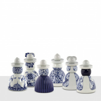 Delfts Blauw Proud Mary 03 Cobalt Flower Pattern
