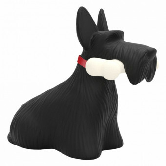 Qeeboo Scottie Lamp Zwart