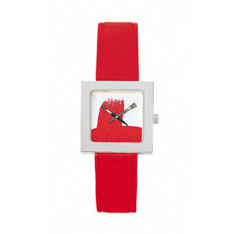Akteo Watch Paint Kubik Lady Red