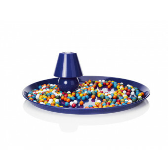 Fatboy Snacklight Blauw Dienblad met Lampje Blauw