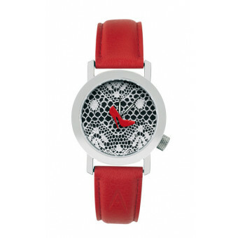 Akteo Horloge Red Pumps