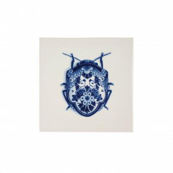 Royal Delft Wunderkammer Bug Tegel 03