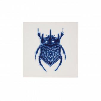 Royal Delft Wunderkammer Bug Tegel 09