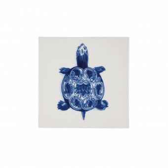 Royal Delft Wunderkammer Turtle Tegel 05
