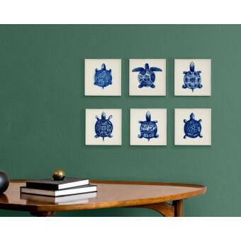 Royal Delft Wunderkammer Bug Tegel 01