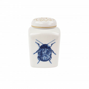 Royal Delft Wunderkammer Theebus Bugs