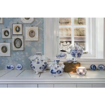 Royal Delft Blueware Tulpen Vaas op pootjes Large 17 cm