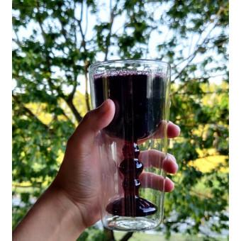 Bitossi DW Water Wijn glas set van 2 stuks