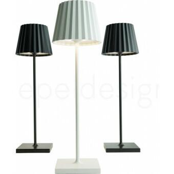 Sompex Troll LED Lamp WIT - oplaadbaar voor binnen en buiten