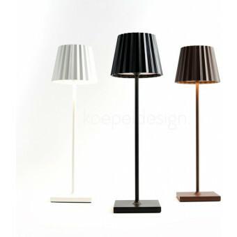 Sompex Troll LED Lamp ZWART - oplaadbaar voor binnen en buiten